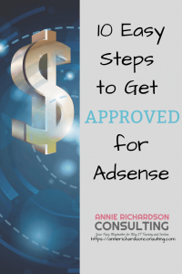 adsense approval, 10 easy steps