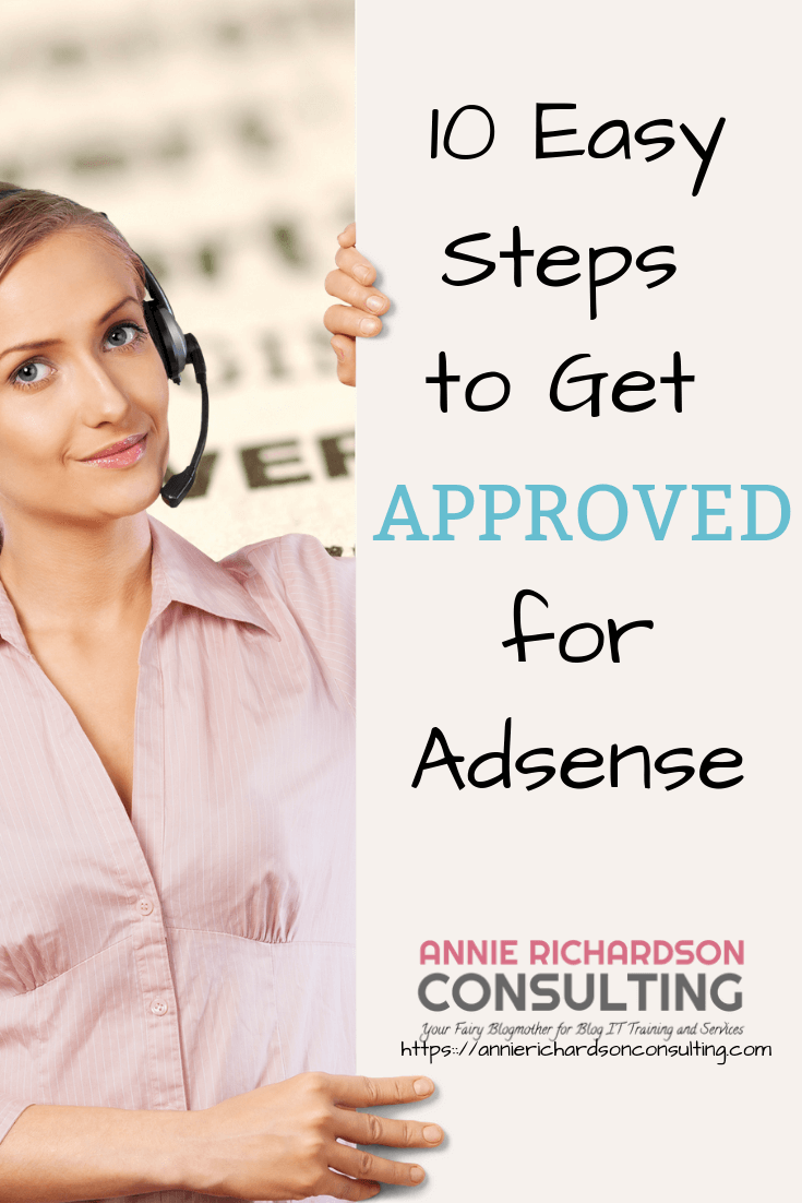10 easy steps, adsense approval