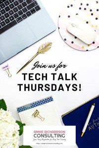 Various Office tools, Join us for Tech Talk Thursdays