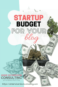 startup budget for your blog, money tree