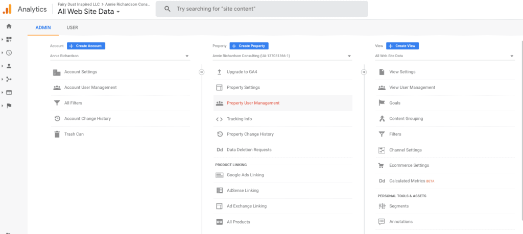 Upgrading to the new Google Analytics G4 without Losing your Mind 6