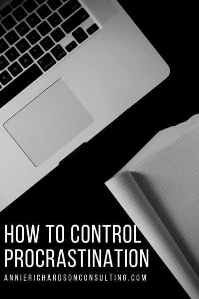 computer and paper, how to control procrastination