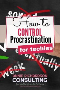 words for procrastination scratched out, how to control procrastination
